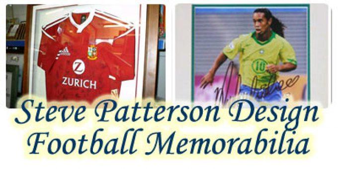 Steve Patterson Design Football Memorabilia